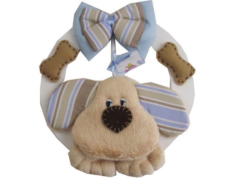 """Enfeite de porta Dog por R$ 49,98 na <a href=""""http://www.laroya.com.br/Conteudo/ProdutoDetalhe.aspx?idProduto=11915514%20%20%20%20%20%20%20&modelo=enfeite_de_porta_dog_dog_315514 """"target=""""_blank"""">La Roya</a>"""