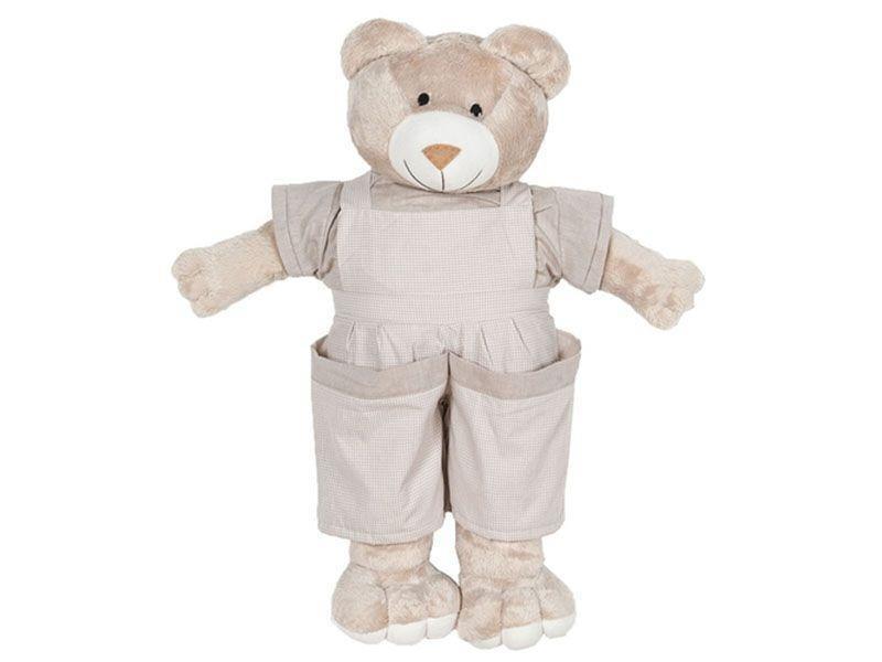 "Ursinho porta fraldas por R$ 153,90 na <a href="" http://www.americanas.com.br/produto/9808025/ursinho-porta-fraldas-quarto-enxoval-bebe-menino-luxo-bege""target=""_blank"">Lojas Americanas</a>"