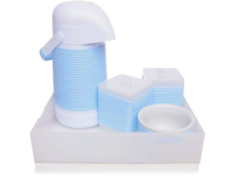 "Kit Higiêne por R$ 469,90 na <a href=""http://www.americanas.com.br/produto/9268719/kit-higiene-flavours-detalhes-para-bebe-azul ""target=""_blank"">Lojas Americanas</a>"