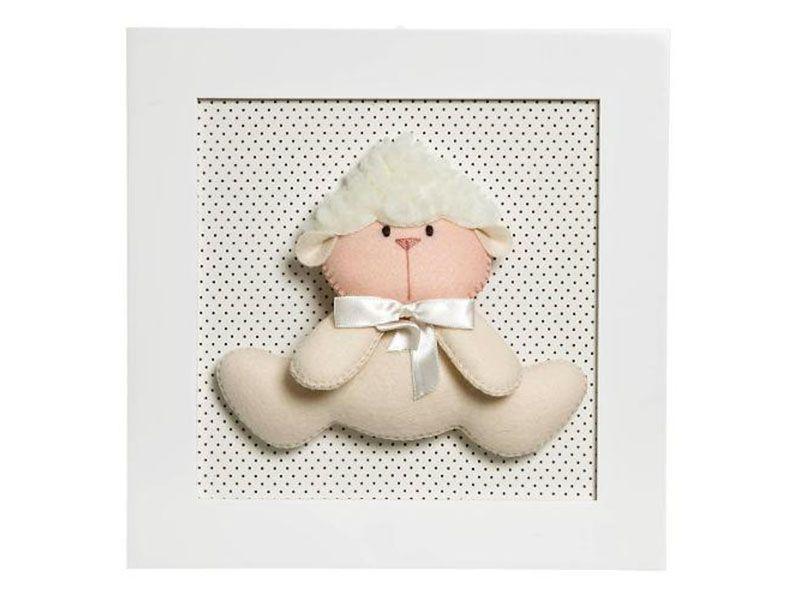 """Quadro decorativo Ovelha por R$ 69,00 na <a href="""" http://www.americanas.com.br/produto/11370630/quadro-decorativo-ovelha""""target=""""_blank"""">Lojas Americanas</a>"""