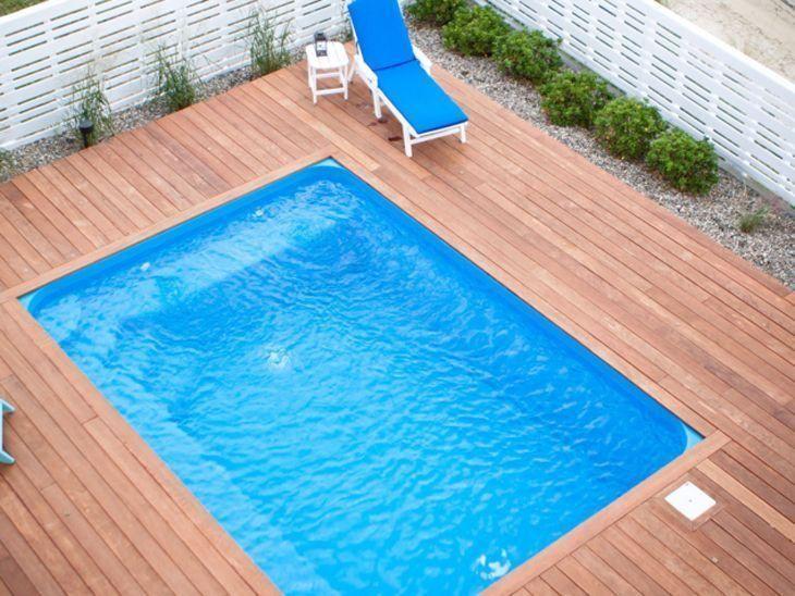 Piscina de vinil vantagens custos cuidados e fotos for Imagenes de piscinas