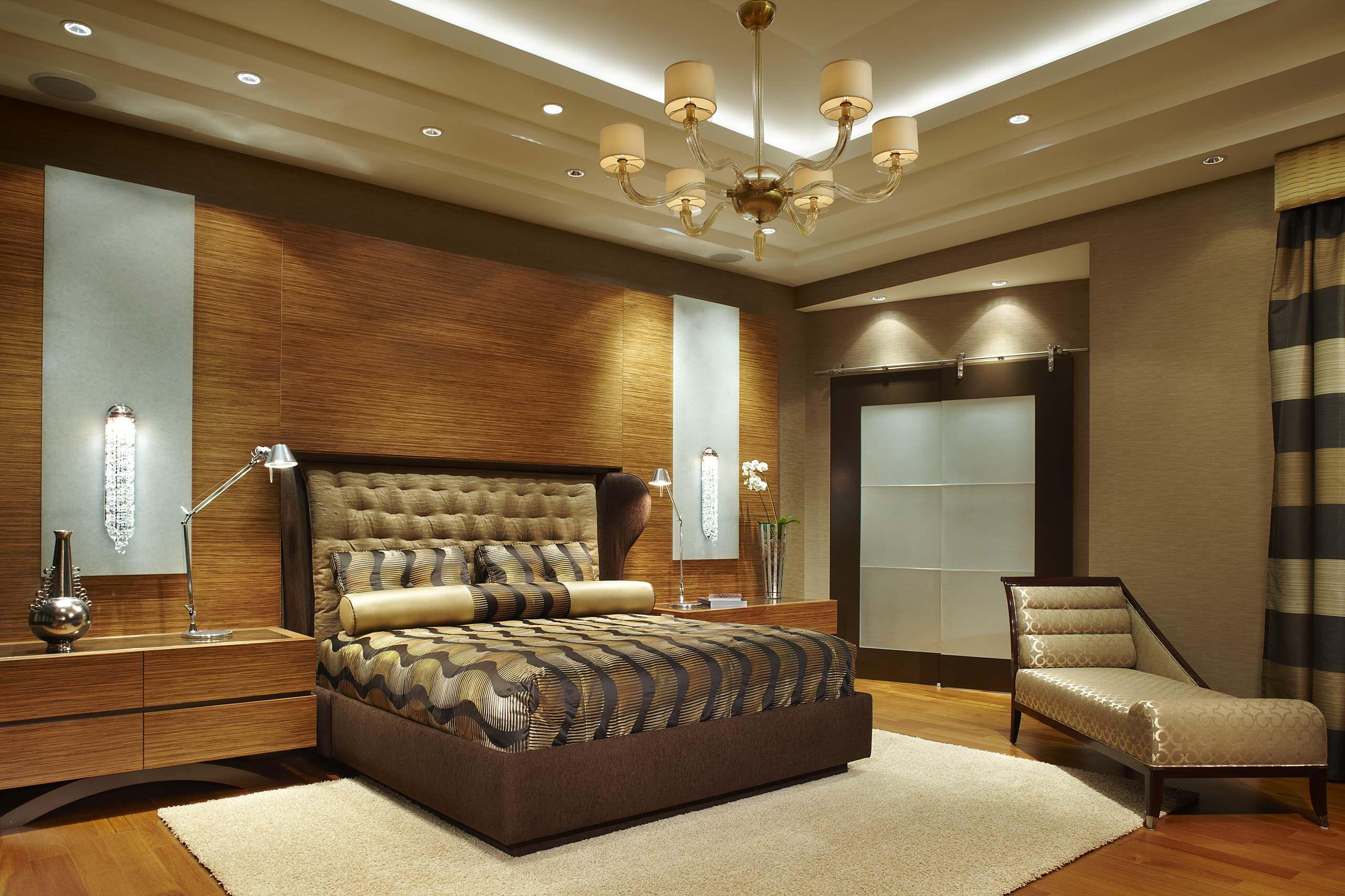 Sanca De Gesso 69 Modelos Para Deixar Sua Casa Sofisticada ~ Teto Rebaixado De Gesso Para Quarto