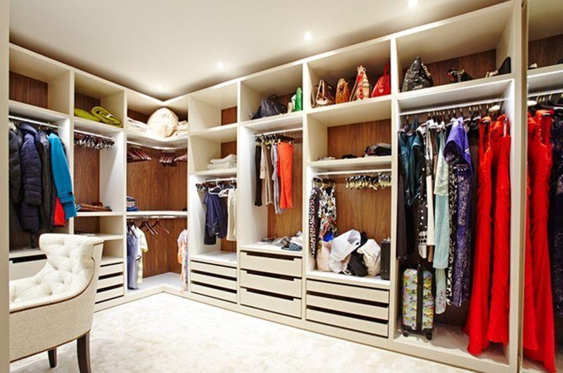 A escolha do arm rio ideal guarda roupas closets ou araras - Divisione interna armadio ...