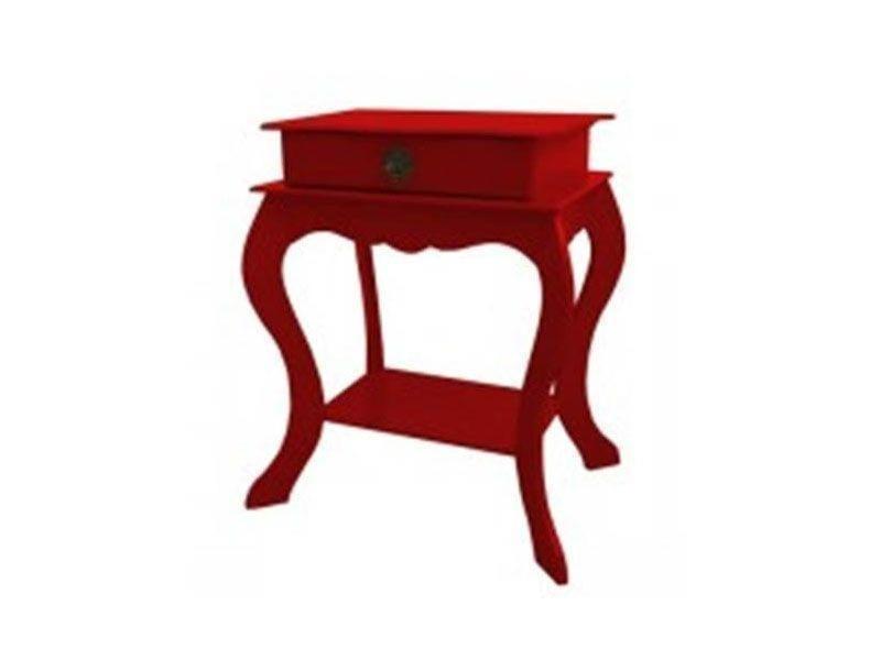 """Criado-mudo com 1 gaveta Vermelho por R$149,90 na <a href=""""http://www.elo7.com.br/criado-mudo-com-1-gaveta-vermelho/dp/60DD5E#df=d&uso=d"""" target=""""blank_"""">Elo 7</a>"""