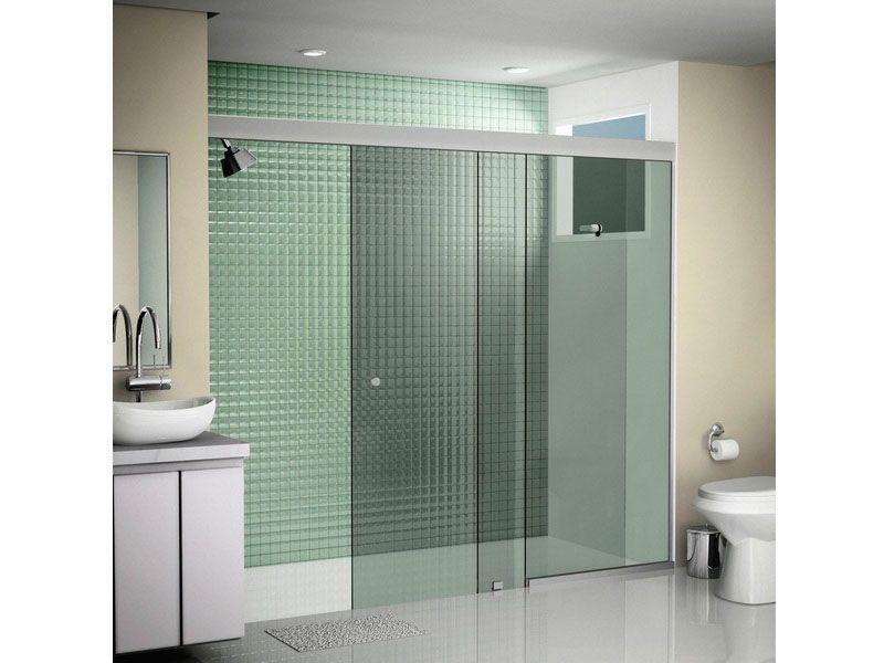 Como escolher o box ideal para o seu banheiro -> Banheiro Simples Box