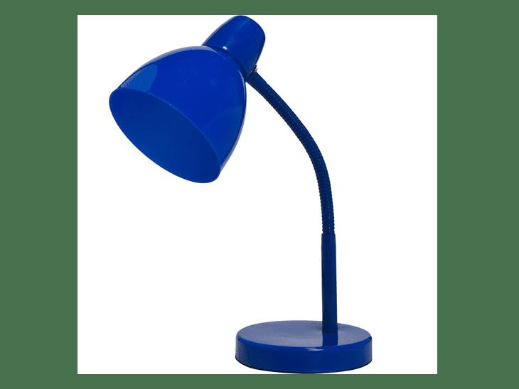 "Luminária de mesa articulada azul por R$ 29,90 na <a href=""https://ad.zanox.com/ppc/?29470536C23045534&ULP=[[https://www.walmart.com.br/luminaria-de-mesa-office-na-cor-azul-mainstays/casa-e-seguranca/iluminacao/2790105/pr?utm_source=zanox&utm_medium=afiliados&utm_campaign=generica&zanpid=2035439420500714496&utm_source=zanox&utm_medium=afiliados&utm_campaign=custom_deeplink]]"" target=""_blank"">Walmart</a>"