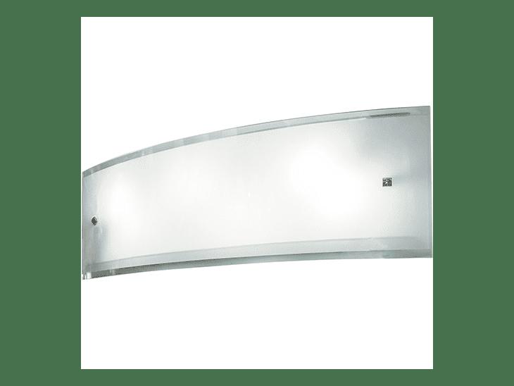 """Arandela em vidro por R$ 80,74 no <a href=""""http://www.submarino.com.br/produto/122393666/arandela-absolut-vidro-leitoso-40cm-incolor-startec"""" target=""""_blank"""">Submarino</a>"""