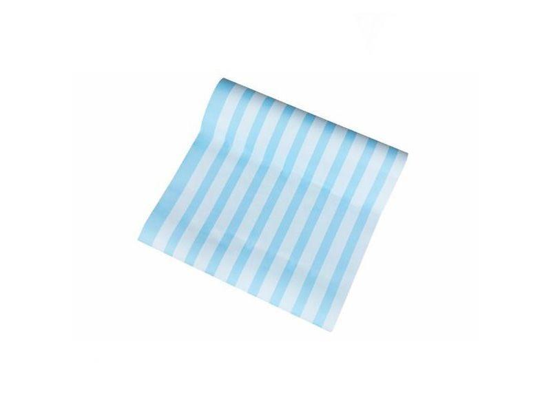 """Tecido Adesivo 300x50 Listras - Azul por R$ 121,50 na <a href=""""https://www.meumoveldemadeira.com.br/produto/tecido-adesivo-300x50-listras-azul"""" target=""""blank_"""">Meu Móvel de Madeira</a>"""