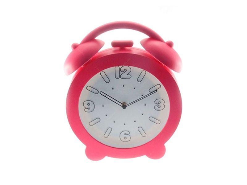 """Relógio de Parede Decorativo Rosa por R$113,60 na <a href=""""https://www.carrodemola.com.br/produtos/12653/relogio-parede-decorativo-rosa-32x28-cm"""" target=""""blank_"""">Carro de Mola</a>"""