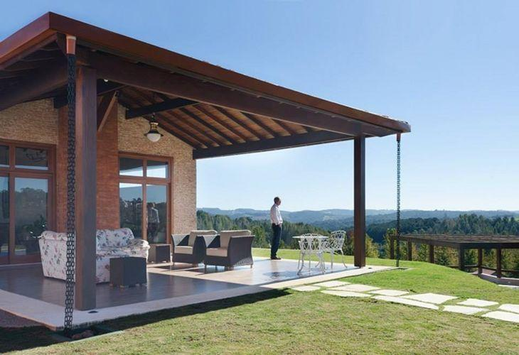 Casas de campo dicas e 50 inspira es para construir - Casas de campo restauradas ...