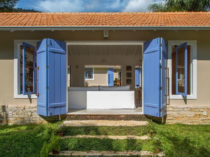 Casas de campo dicas e 50 inspira es para construir - Construir casa de campo ...