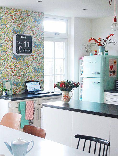"""Foto: Reprodução / <a href=""""http://www.designsponge.com/2015/01/a-home-where-creativity-and-family-are-king.html"""" target=""""_blank"""">Design Sponge</a>"""
