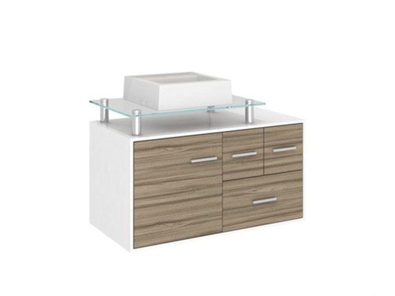 """Gabinete para banheiro por R$744,90 na <a href=""""http://www.telhanorte.com.br/gabinete-napoli-ii-80x42x45cm-sem-cuba-terracota-darabas-1363077/p"""" target=""""blank_"""">Telha Norte</a>"""
