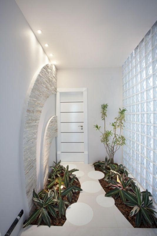 fotos de jardim interno : fotos de jardim interno:Decoração de jardim: 80 fotos e ideias para te inspirar