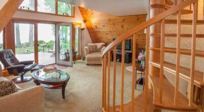 Utilize escadas caracol e garanta funcionalidade e beleza ao seu lar