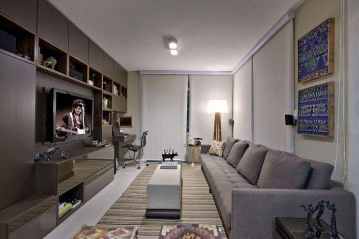 Sofá cinza  50+ fotos para aproveitar a versatilidade da peça 0125d73d7e