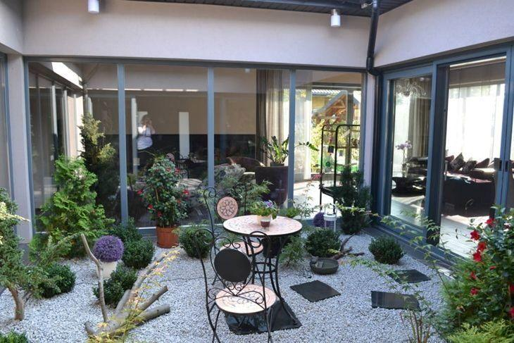 Innenhof Mediterran Gestalten jardim de inverno inspire se para trazer a natureza pro seu lar
