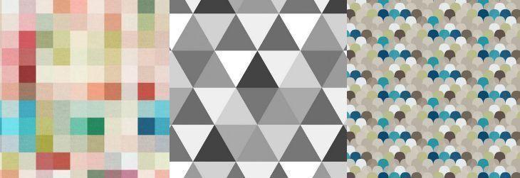 Imagem: Tua Casa - Papel de parede Piunti / Papel de parede Quartzo Preto e Branco/ Papel de parede Tamarindo Azul