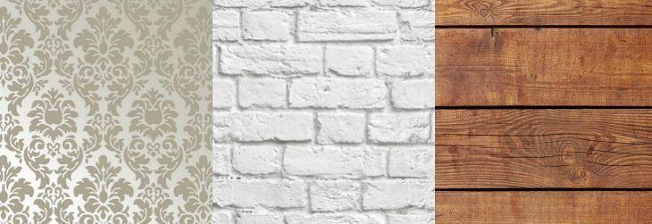 Imagem: Tua Casa - Papel de parede Amarie / Papel de parede tijolo branco/ Papel de parede madeira 0142