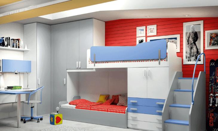 Beliches infantis modelos do tradicional ao l dico for Sofa que se transforma em beliche