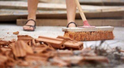 Limpeza pós-obra: dicas e cuidados que você precisa ter