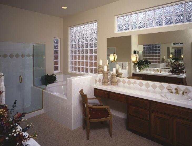 Tijolo de vidro beleza transparente para diversos fi -> Decoracao Com Tijolo De Vidro No Banheiro