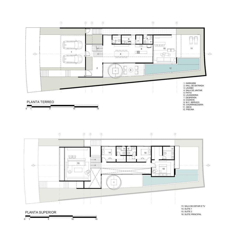 28 plantas e projetos arquitetônicos para realizar o sonho da casa