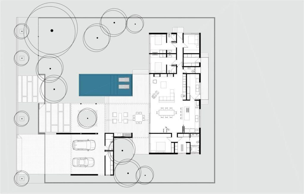 Casa do Laranjal, 330m².: Reprodução / RMK! Arquitetura via Archdaily
