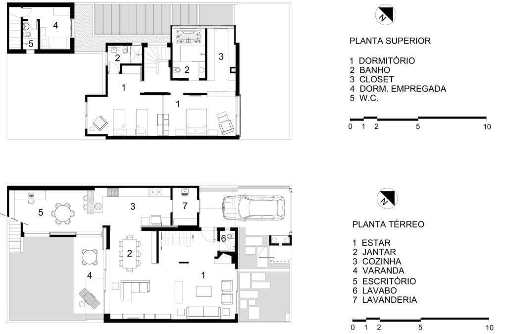 Casa Sagarana, 212,4m². Foto: Reprodução / Rocco Arquitetos