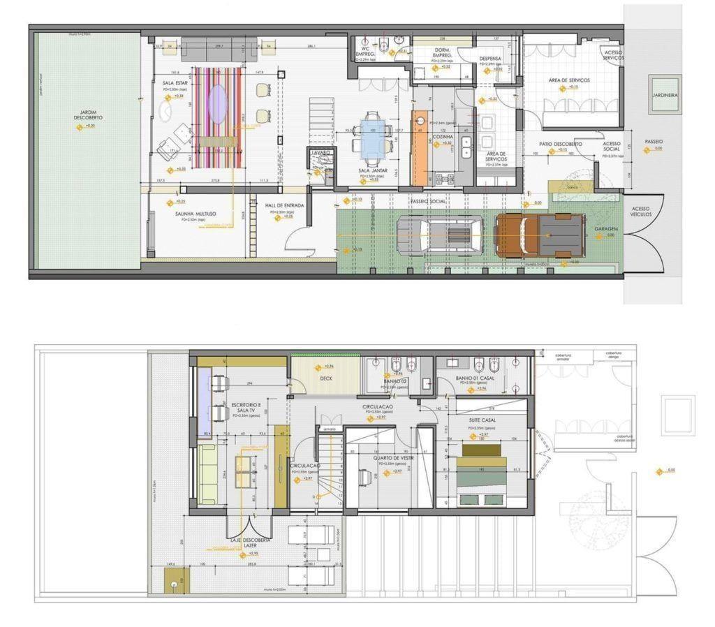 Casa Santa Cristina, 270m². Foto: Reprodução / Bruschini Arquitetura via Archdaily