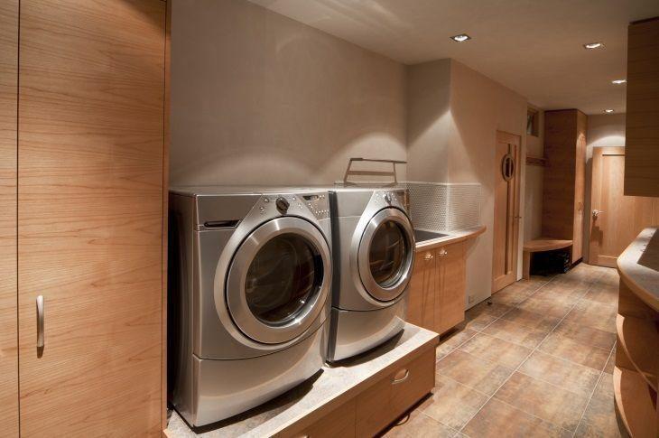 como planejar e decorar lavanderias pequenas. Black Bedroom Furniture Sets. Home Design Ideas