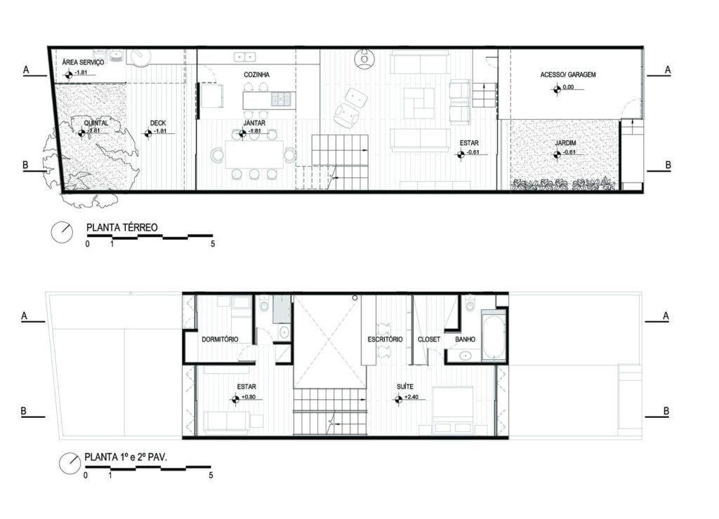 Casa Juranda , 150m². Foto: Reprodução / Apiacás Arquitetos via Archdaily