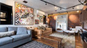 Sala para dois ambientes: a melhor forma de ampliar espaços