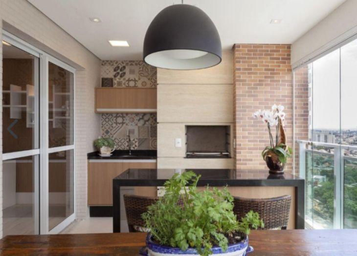 50 varandas, sacadas e terraços comótimas ideias de decoraç u00e3o -> Decoração De Terraço Com Churrasqueira