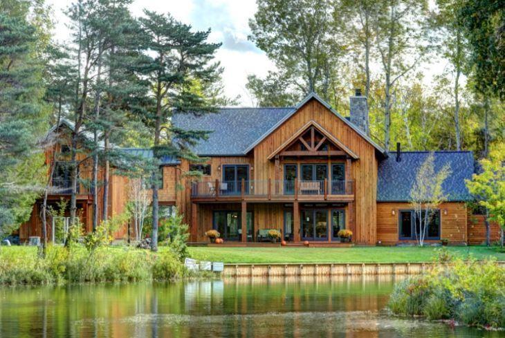 Populares 20 fachadas de casas rústicas cheias de charme WY91
