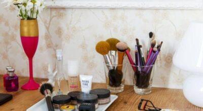 50 inspirações de bancadas de maquiagem para fazer em casa