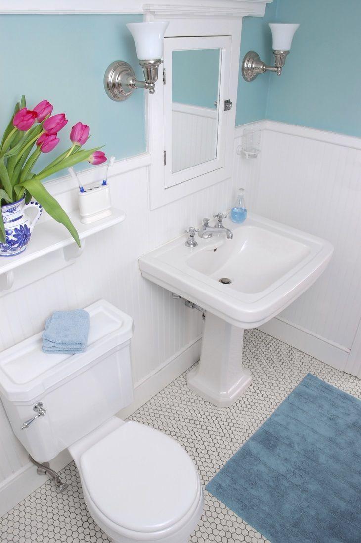 55 banheiros pequenos decorados cheios de estilo -> Banheiro Pequeno Ceramica