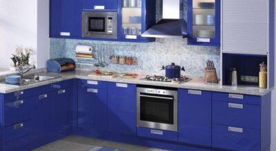 30 cozinhas decoradas para quem adora a cor azul