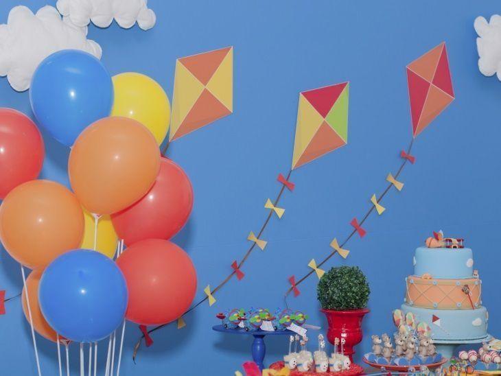 Festa infantil azul