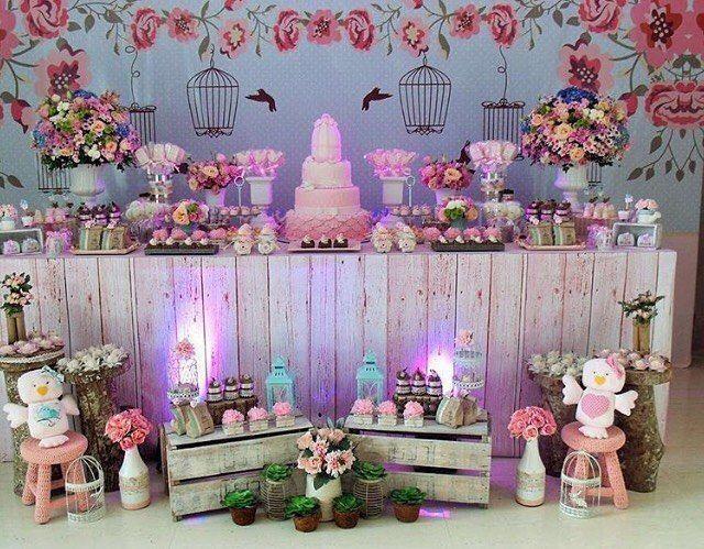 45 decorações de festas infantis para se apaixonar -> Decoração De Festa Infantil Realeza Luxo