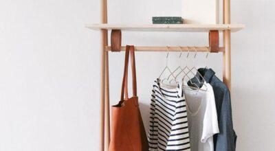 Como fazer uma arara de roupas em casa