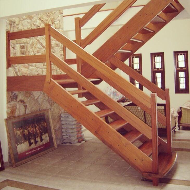 Foto: Reprodução / Escadas Madeira Viva