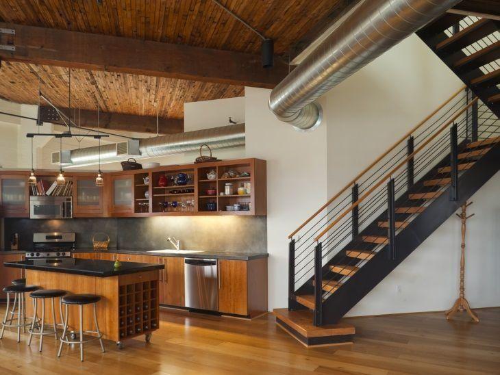 70 Escadas De Madeira Lindíssimas Para Você Se Inspirar