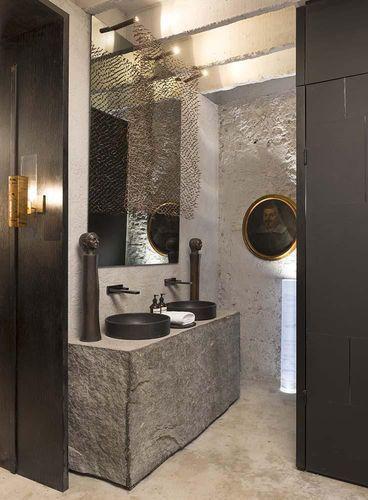 70 lavabos que s o verdadeiras obras de arte. Black Bedroom Furniture Sets. Home Design Ideas