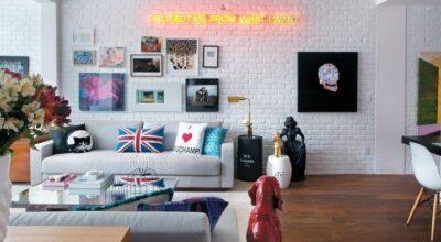 20 ambientes que esbanjam estilo decorados com neon