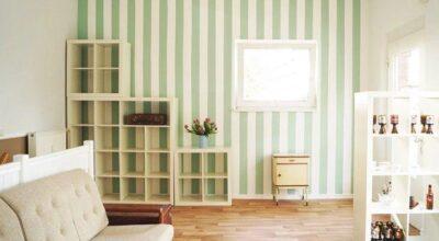 Como fazer para pintar listras na parede com perfeição