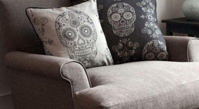 20 ambientes decorados com caveiras repletos de personalidade