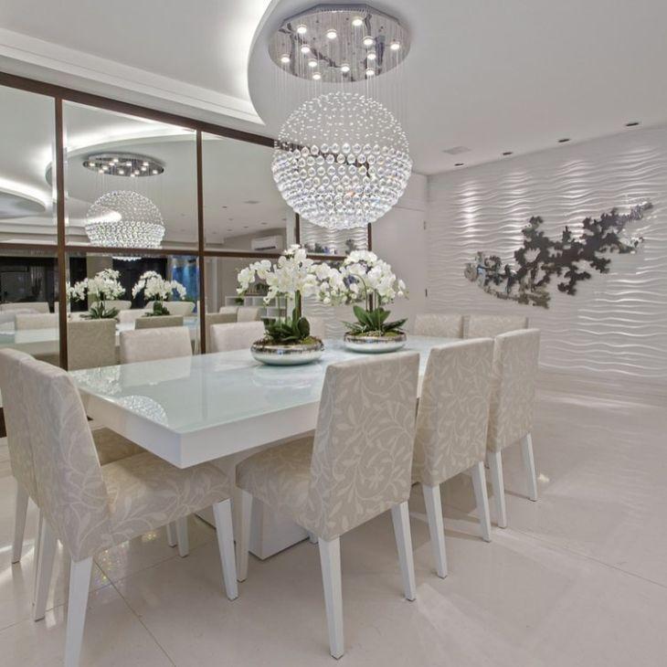 Sala De Jantar Iara Kilaris ~ 100 lustres para a sala de jantar da sua casa ficar ainda mais bonita