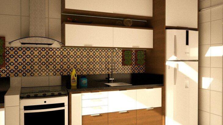 Papel de parede para cozinha 40 ideias de decora o para - Papel para revestir paredes ...