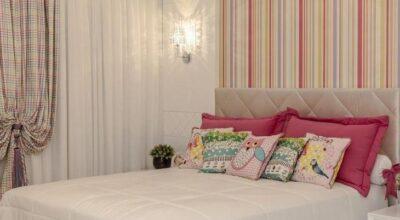 50 ambientes com paredes listradas lindas e inspiradoras